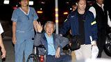 Peru's Fujimori hospitalised after pardon revoked