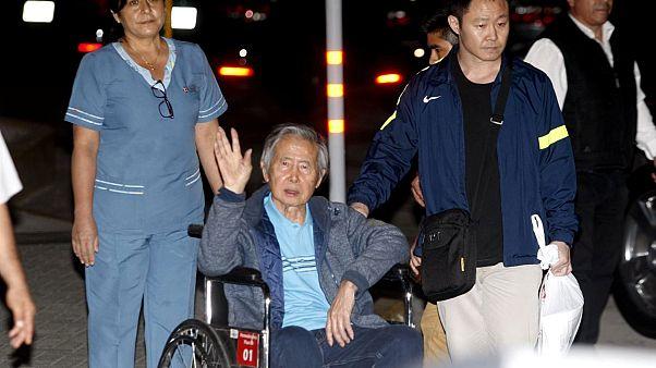 Visszavonták az elnöki kegyelmet Fujimoritól