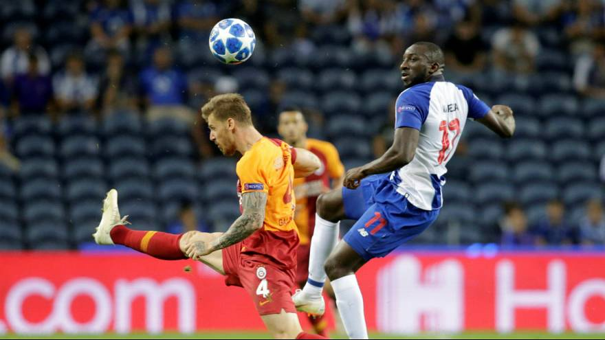 Moussa Marega assinou o único golo do triunfo portista sobre o Galatasaray