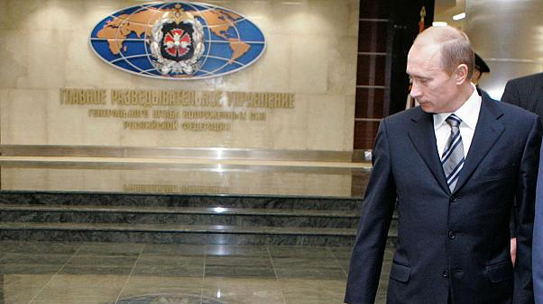 President Putin visits GRU military intelligence HQ, Moscow, November 2006