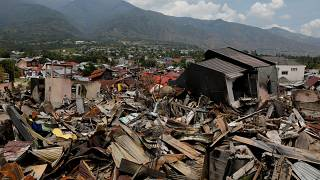 """Emergency teams find entire villages """"wiped off the map"""" in Indonesia"""