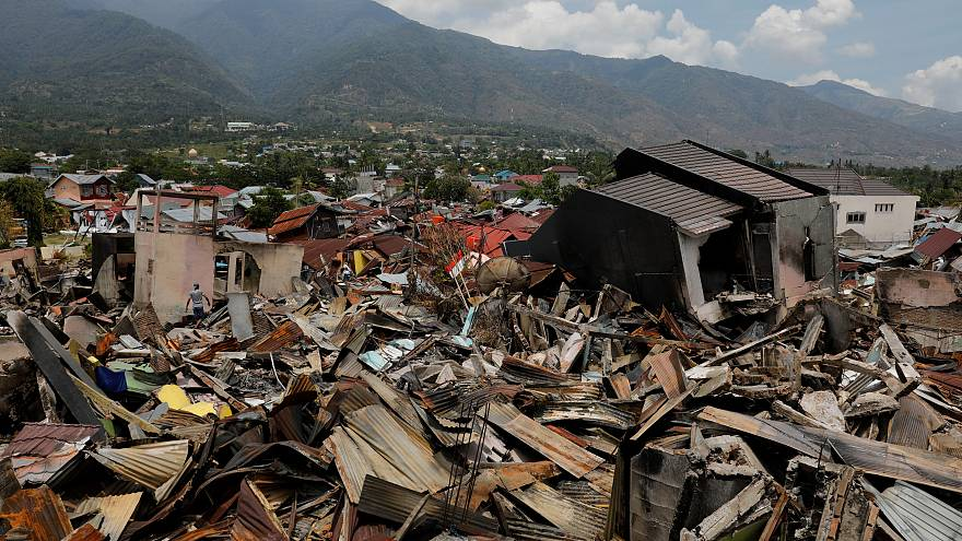"Emergency teams find entire villages ""wiped off the map"" in Indonesia"