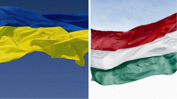 تنش سیاسی میان اوکراین و مجارستان و اخراج متقابل دیپلماتها