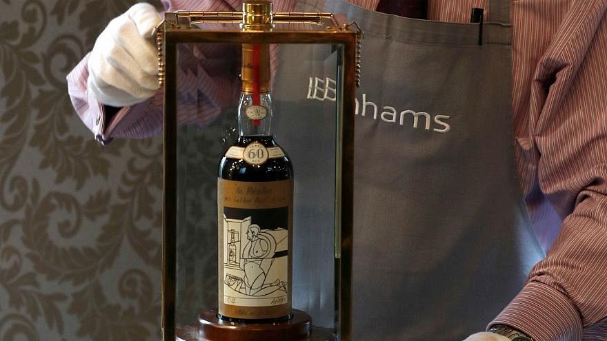 1,1 Mio. Dollar für eine Flasche Whisky - getrunken wird der wohl nicht