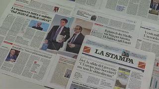 Csökkentette a deficitcélt az olasz kormány