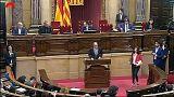 Independentistas divididos na Catalunha
