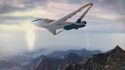 """""""Futuris"""" reaches for the sky with the wings of the future"""