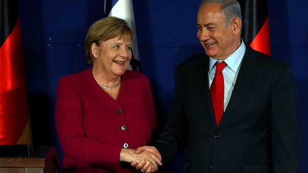 ميركل: ألمانيا وإسرائيل توافقتا على أن إيران لا يجب أبداً أن تمتلك السلاح النووي