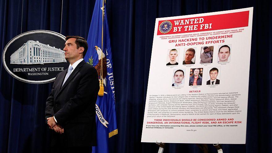 Estados Unidos acusam russos de ciberataques