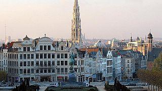 مركز مدينة بروكسل