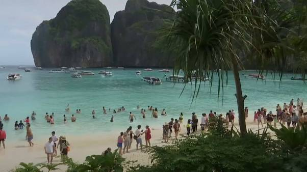 Thai beach popularised by Di Caprio film to remain closed to tourists