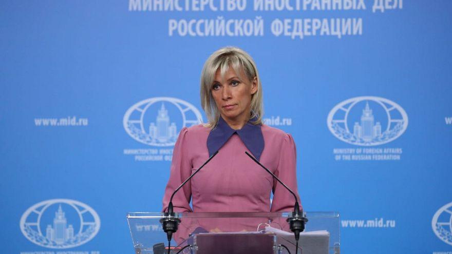 Μαρία Ζαχάροβα, εκπρόσωπος ρωσικού ΥΠΕΞ (φωτογραφία αρχείου)