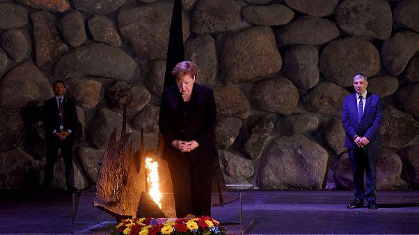 Меркель о вине и долге перед евреями