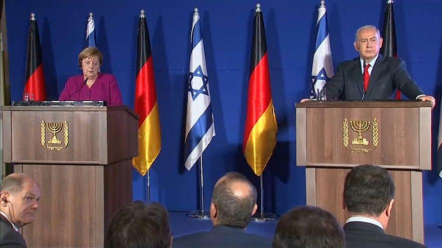 Merkel: Deutschland beim Thema Iran auf Israels Seite
