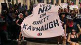 Tausende protestieren gegen Richterkandidaten Kavanaugh