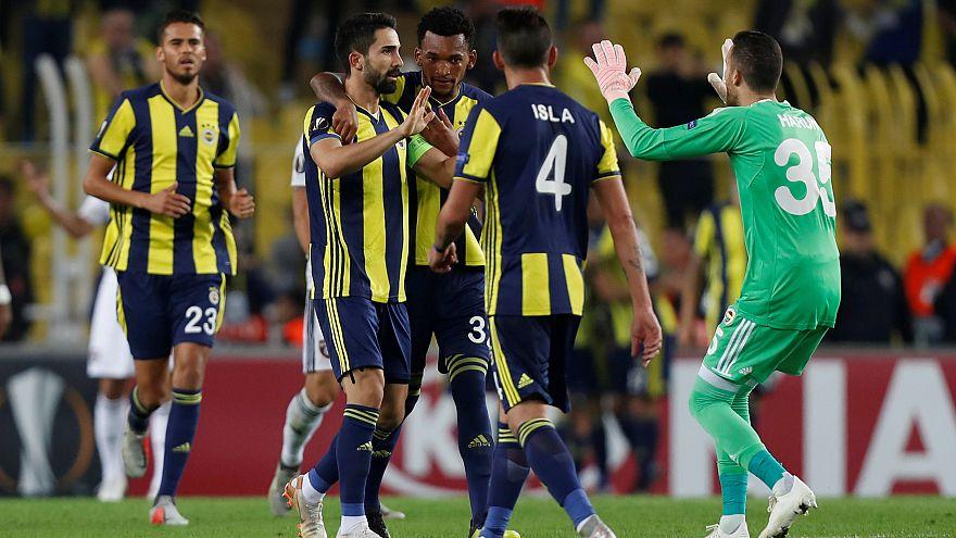 Fenerbahçe Avrupa Ligi'nde ilk galibiyetini aldı