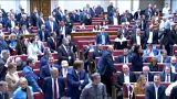 Első olvasatban megszavazta az ukrán parlament a nyelvtörvényt