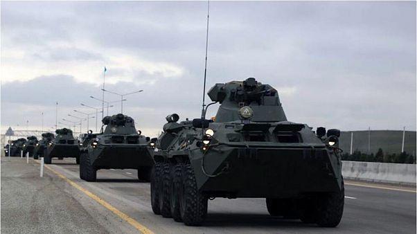 رزمایش گسترده ارتش جمهوری آذربایجان با ادعای نقض آتشبس از سوی ارمنستان