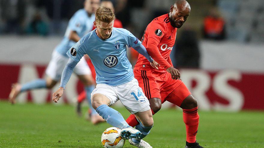 Beşiktaş Avrupa Ligi'nde Malmö'ye kaybetti: 2-0
