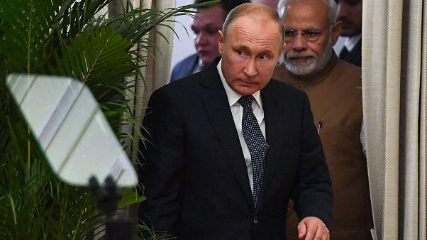 روسیه سامانه موشکی اس۴۰۰ را به هند فروخت