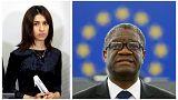 Nobel Barış Ödülü'nü cinsel şiddetle mücadele eden Yezidi Murad ve Kongolu Mukwege kazandı