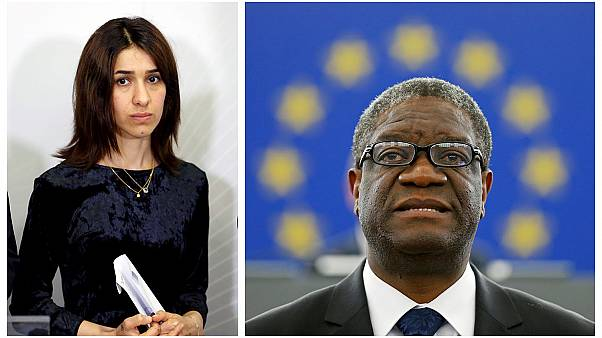 Congolese physician and Yazidi human rights activist win 2018 Nobel Peace Prize