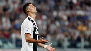Juventus v Napoli - Juventus' Cristiano Ronaldo during the match