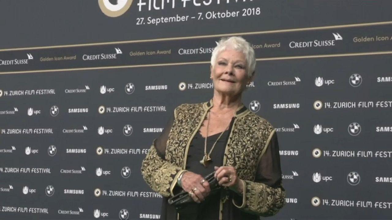 Festival del cinema di Zurigo, arriva Judi Dench