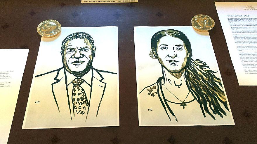"""Nobel de la paix : """"Docteur miracle"""" et Yézidie miraculée, même combat!"""