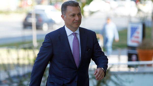Makedonya'da yolsuzluktan hapse çarptırılan eski başbakanın cezası onandı