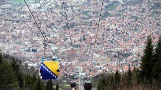 مدينة سراييفو عاصمة جمهورية البوسنة والهرسك