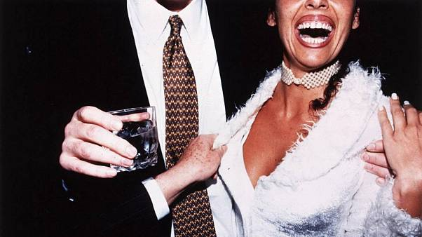 Jessica Craig-Martin, Hamptons Cocktail Party, July 1998