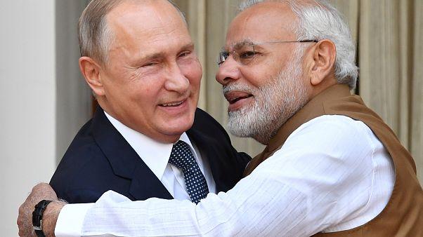 Putyin és Modi