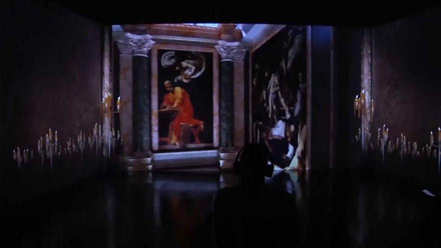 Milan museum exhibits 'immersive' Caravaggio