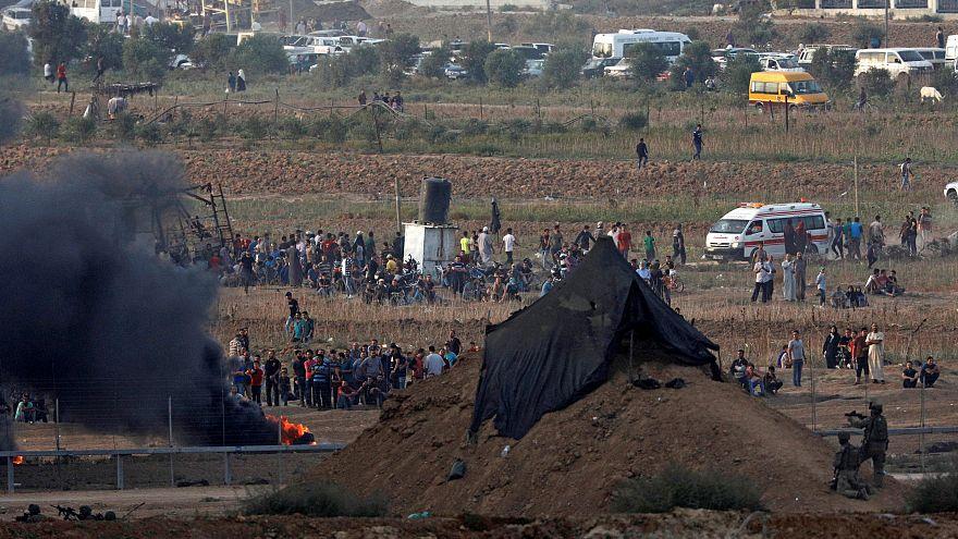 مقتل ثلاثة فلسطينيين بينهم طفل برصاص الجيش الإسرائيلي في مسيرات غزة