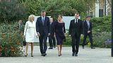 Felipe VI y Macron, juntos en París por Joan Miró