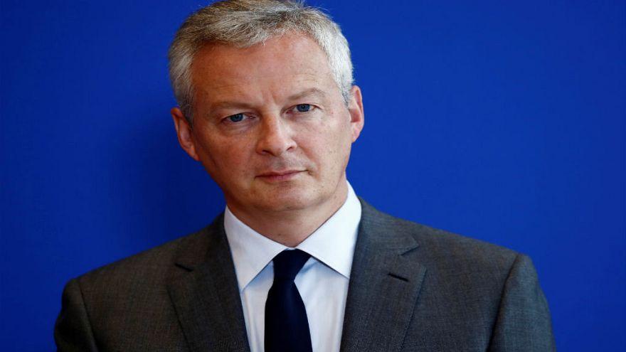 برونو لو مر، وزیر اقتصاد و دارایی فرانسه