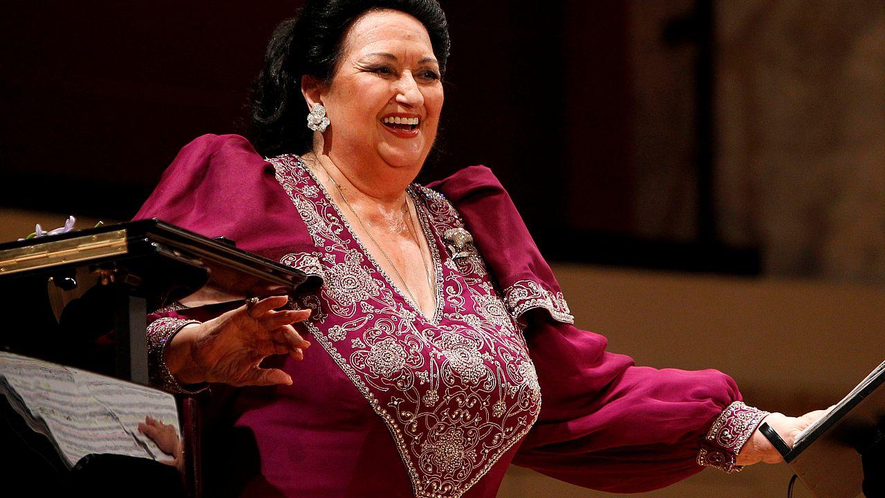 Multitudinario adiós a Montserrat Caballé