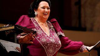 O último adeus a Montserrat Caballé