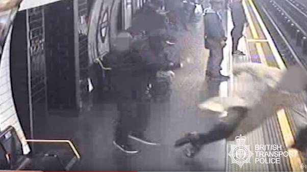 Watch: Man found guilty on two counts of attempted murder on London Underground