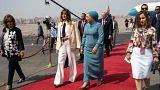 ميلانيا ترامب تختتم جولتها الإفريقية في مصر