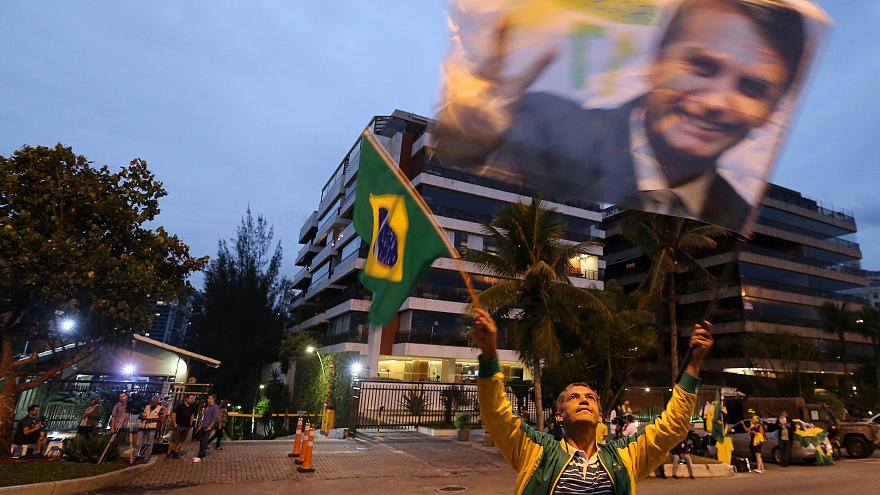 Far-right candidate is front-runner in Brazil's election
