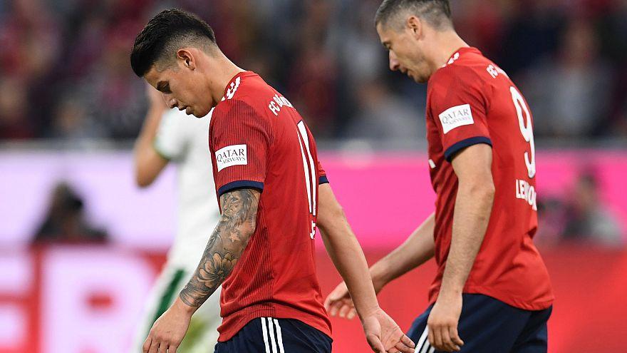 Abgewatscht? Bayern unterliegen Mönchengladbach 0:3