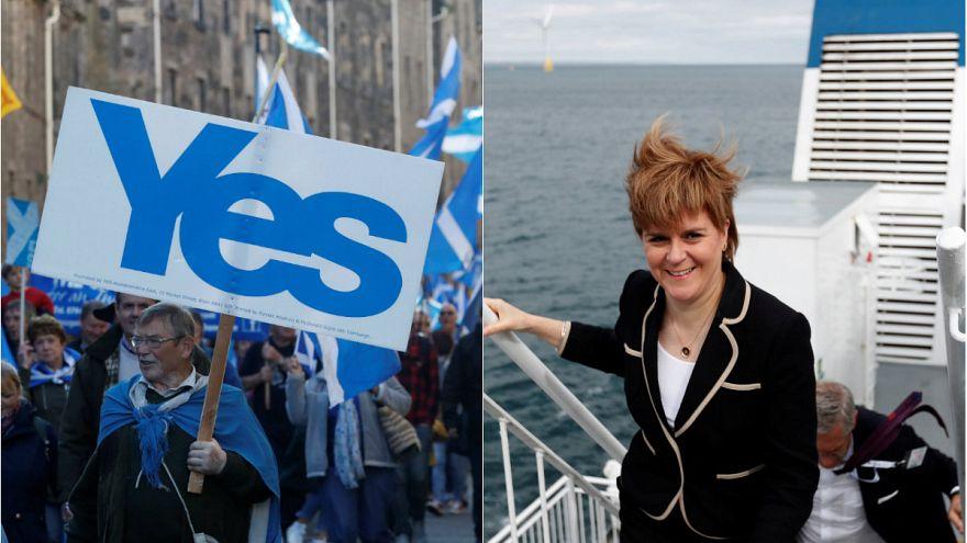 Milhares apoiam independência na Escócia
