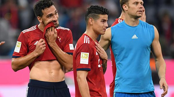 Son 6 senenin şampiyonu Bayern Münih kendi evinde farklı yenildi: 0-3