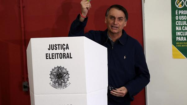 Voting underway in polarized Brazil race