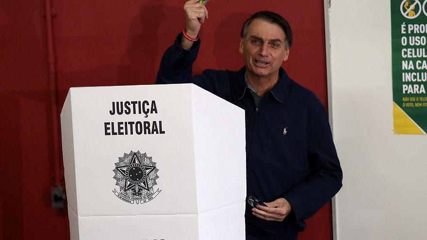 Voting underway in polarized Brazil race