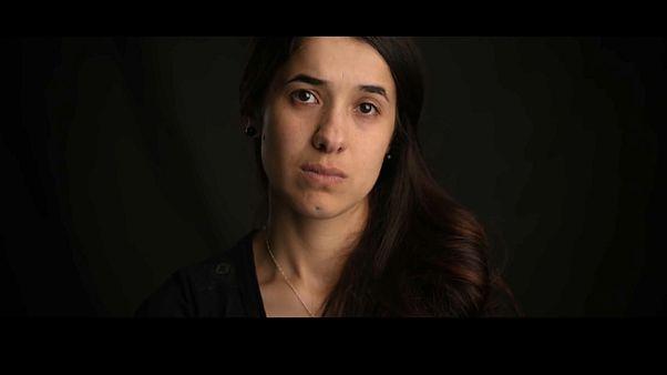 """On her shoulders"": Film über Nadia Murad"
