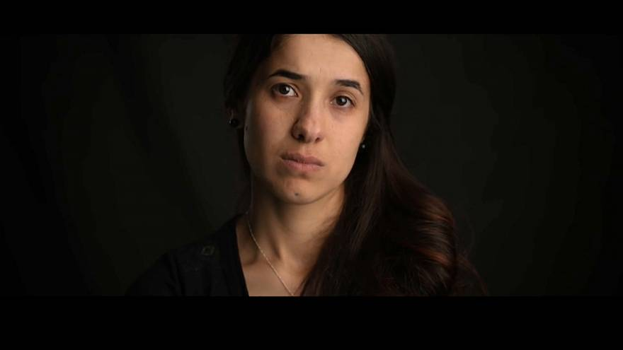 """On her shoulders"": Film über Nadia Murad"