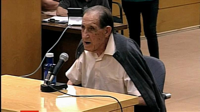 Eduardo Vela a tárgyaláson.
